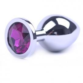 Bijou Anal Medium Purple 8 x 3 cm
