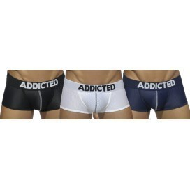 Addicted Pack Boxer Mesh Push Up