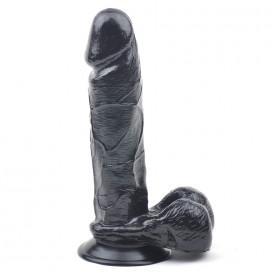 Gode Anal 17 x 4.8 cm Noir