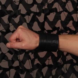 Cockpik Bracelet de Force Cuir Noir