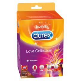 Durex Préservatifs Durex Love Collection x31