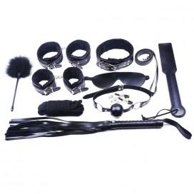 Kit SM Fetish 10 Pièces Noir
