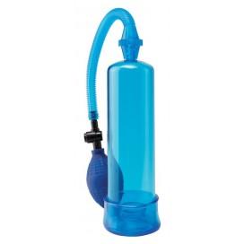 Pump Worx Pompe à pénis Worx Beginners 19 x 5 cm Bleu