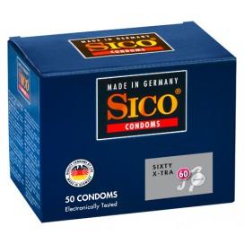 Préservatifs Fins Sico x50 60mm