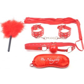 Kit SM Fetish Rouge 5 Pièces