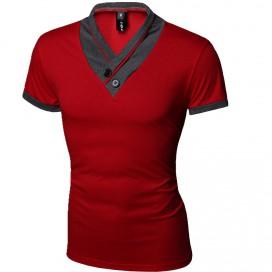 T-Shirt Tendance Street Rouge