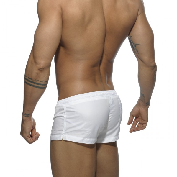 Mini Short de bain Basic Blanc