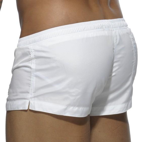 0a4fbb8c2af9b Mini Short de bain Basic Blanc