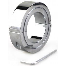 Cockring Metal Locking Hinged