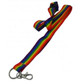 Pride Items Tour de cou Rainbow