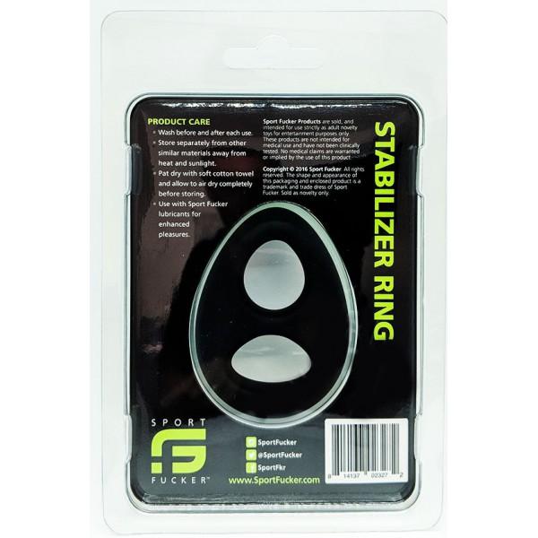 Ball stretcher Stabilizer Ring Noir