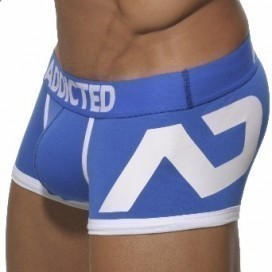 Addicted Boxer Disco Push Up Bleu Royal